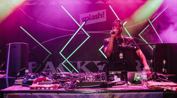 DJ Tchauni auf dem splash - Bild: Janina Wagner